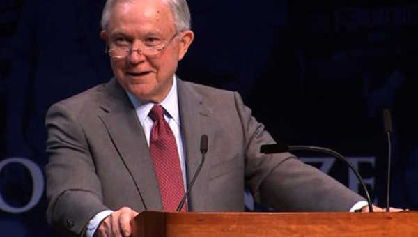 """""""Jeff Sessions' smile at 'lock her up' tells us everything"""" by Dr. Peggy Drexler"""