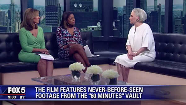 Peggy Drexler on Good Day New York Discussing 'Mike Wallace is Here'