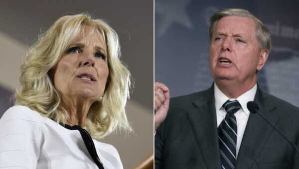Jill Biden learns hard truth about Lindsey Graham