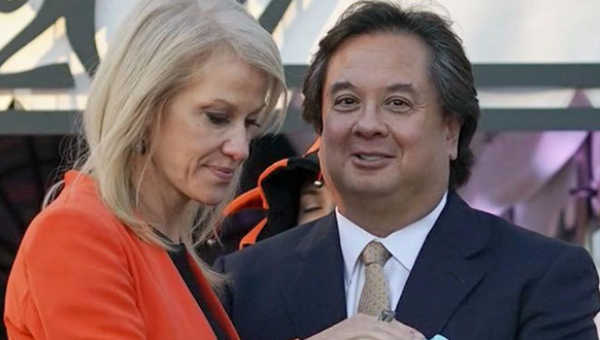"""""""Political spouses like George Conway are fair game"""" by Dr. Peggy Drexler"""